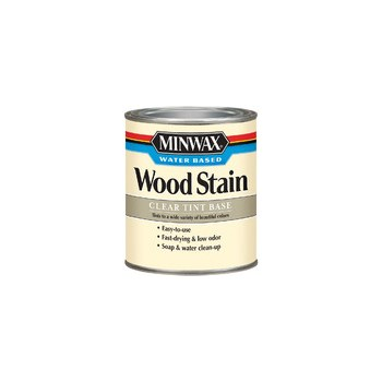 Wood Stain, Water-Based ~ White Tint Base - Quart