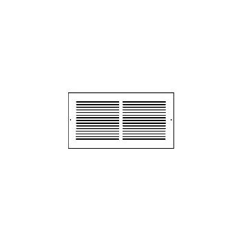 Hart & Cooley 372W24X12 Wh Return Air Grille