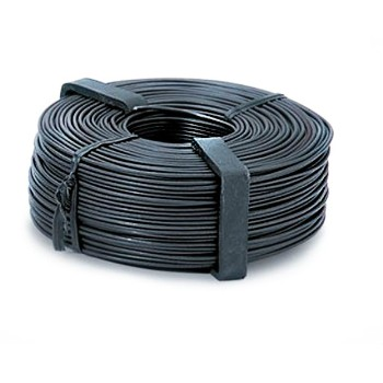 Square Hole Bar Tie Wire, Black Annealed ~ 16G
