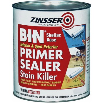 B-I-N Primer Sealer, White  ~ Pint