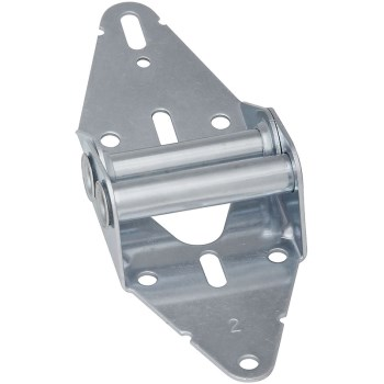 Galvanized Hinge, Visual Pack 7609 #2 14 ga