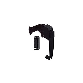 Black Pushbutton Latch, Visual Pack 1313