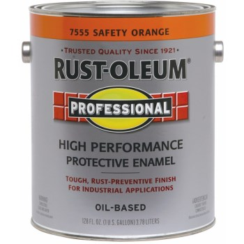 High Performance Protective Enamel, Safety Orange ~ Gallon