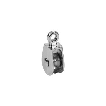 Single Wheel Solid Eye Pulley - 1 1/4 inch