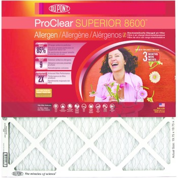 "ProClear Superior 8600 Series Air Filters ~ 20"" x 25"" x 1"""