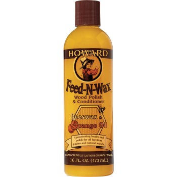 Feed-N-Wax, Wood Polish & Conditioner ~ 16 oz