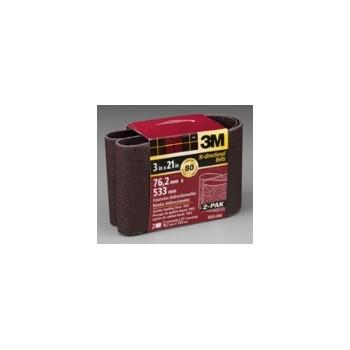 3M 051131708860 Sanding Belt - Medium - 3 x 21 inch