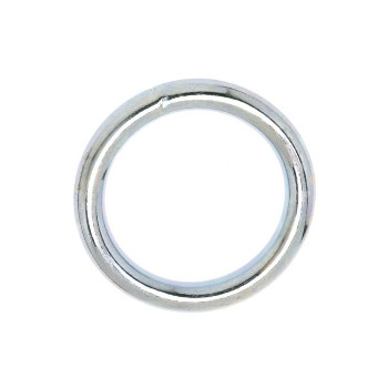 Welded Ring - Nickel Finish - 1.5""