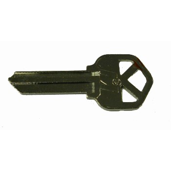 KW1 Blank Key, Nickel Plated Finish - Pack of 250