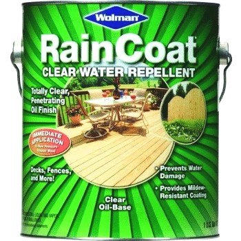 RainCoat Water Repellent, Clear ~ One Gallon