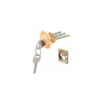 Brass Face Rim Cyl Lock