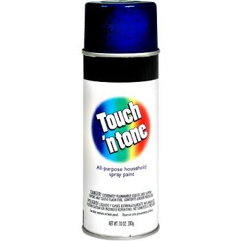 Rust-Oleum 55290830 Touch N Tone Spray Enamel Dark Blue