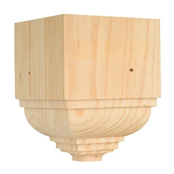 Waddell OCTB-52 Outside Crown Trim Block-Pine