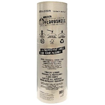 "Floorshell™  Surface Protection ~ 38"" x 100 Ft"