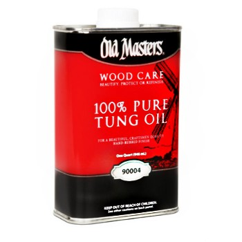 Old Masters  Tung Oil - 100% Pure, One Gallon