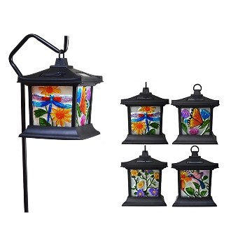 Coleman Cable 92276 Floral LED Solar Light