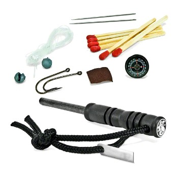 Fire Striker w/ Survival Kit