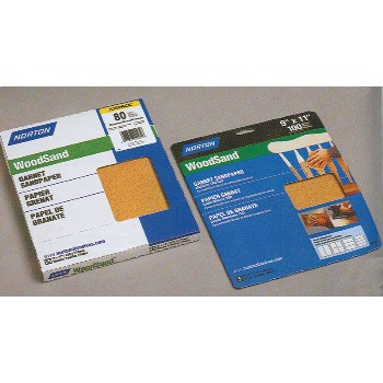 "Handy Pack Wood Sanding Sheets, Very Fine 220 Grit ~ 9"" x 11"""