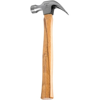 Wood Handled Curved Claw Hammer ~ 16 ounce