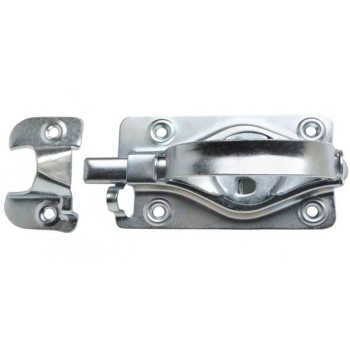 Albany Hardware   101Z Barn Door Latch - Zinc