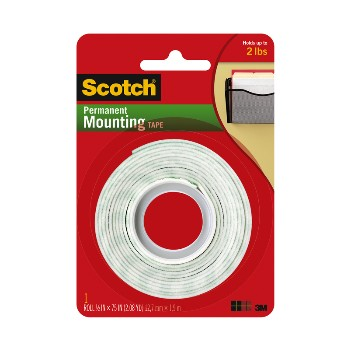 Mounting Tape - 0.50 x 75 inch