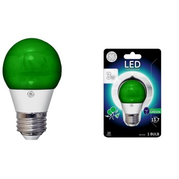 Party Bulb, Green ~ LED