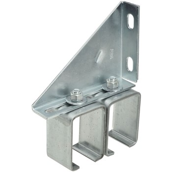 UPC 038613104785 product image for National 104786 Barn Door Double Rail Bracket | upcitemdb.com