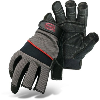 Xl 3 Fngr Open Tip Glove