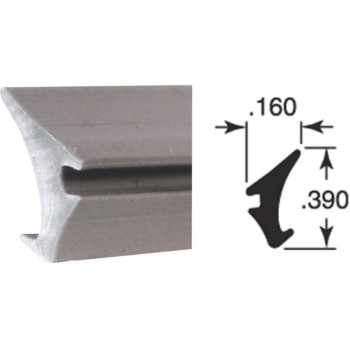 PrimeLine/SlideCo P7774 Gray Glazing Spline