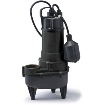 Eco-Flo Products Inc RSE50W 1/2 Hp Ci Sewage Pump