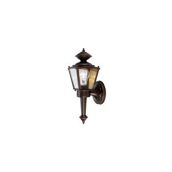 Outdoor Light Fixture, Coach Lantern Rust