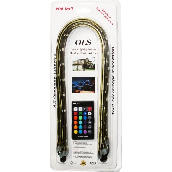 PPA Intl  OLSAOLSKPLUS OLS All Occasions Outdoor Lighting Kit II