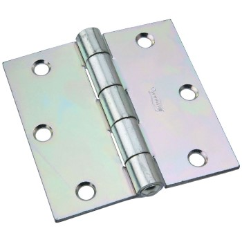 Non-Removable Pin Hinge,  Zinc Plated ~ 3 1/2""