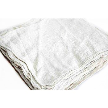 White Shop Towel