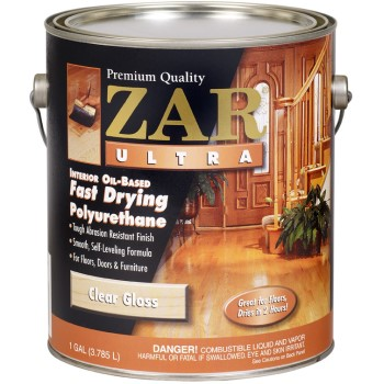 ZAR  Ultra Clear Fast Drying Gloss Polyurethane ~ Gallon