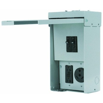 Eaton Corp CHU4N7NS Unmetered Temporary 30 Amp Power Outlet Panel ~ 125 Volt
