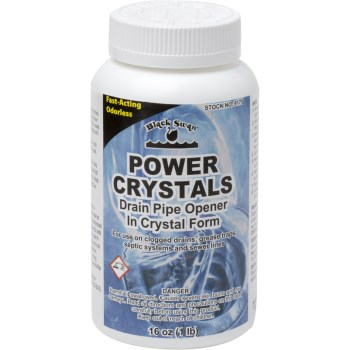 Power Crystal Drain Opener ~ 16 oz.