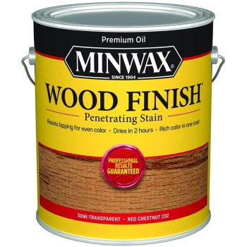 Wood Finish ~ Red Chestnut - One Gallon