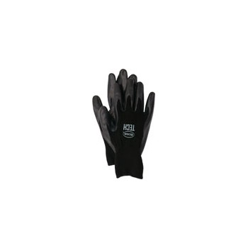 Nylon Shell Foam Gloves - Large