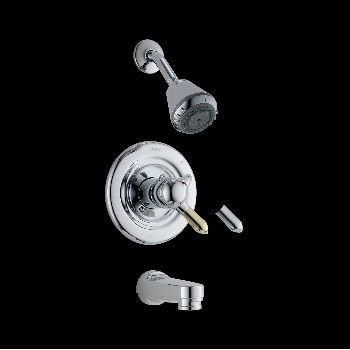 Tub & Shower Faucet - Classic Monitor - One Handle