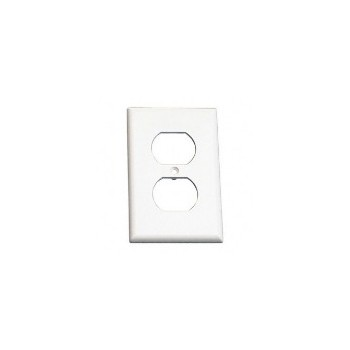 Wh 1-G Outlet Plate