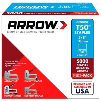 Arrow Staples - T50 - 3/8""