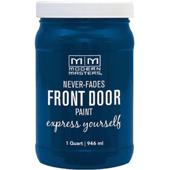 Express Yourself Front Door Satin Paint, Serene  ~ Quart