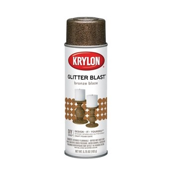 Glitter Blast Spray Paint, Bronze Blaze ~ 5.7 5oz