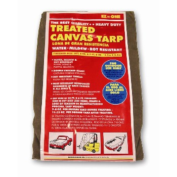 8x10 12oz Canvas Tarp
