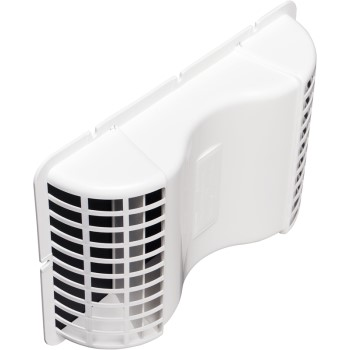 Deflect-O EVE/6 Under Eave Vent, White