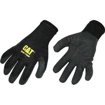 Caterpillar Cat017400j Poly Cttn Blk Glove