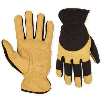 Goatskin Gloves, Hybrid Large