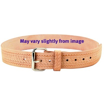 2 inch Embossed Leather Work Belt