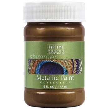 Metallic Paint, Statuary Bronze  ~ 6 Ounce